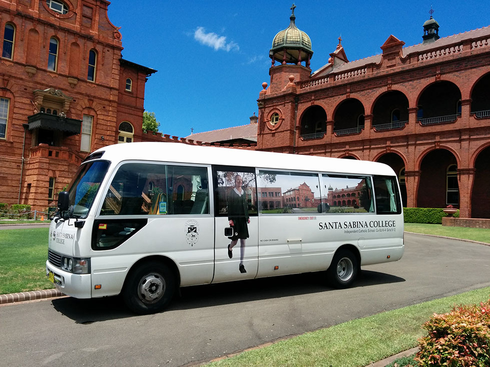 Location And Transport Santa Sabina College