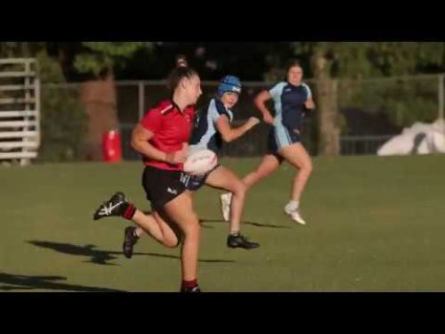 Rugby Sevens #likeasantagirl