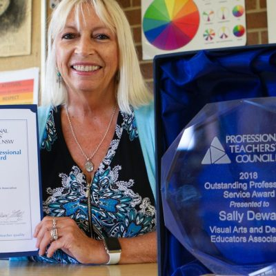 Introducing Sally Dewar, award-winning VA Teacher thumbnail