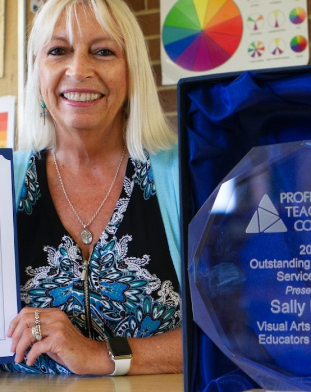 Introducing Sally Dewar, award-winning VA Teacher