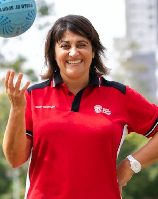 Introducing Commonwealth gold medallist Natalie Avellino