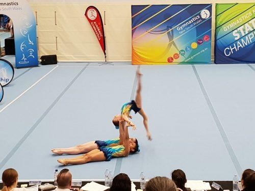 Acrobatics gold