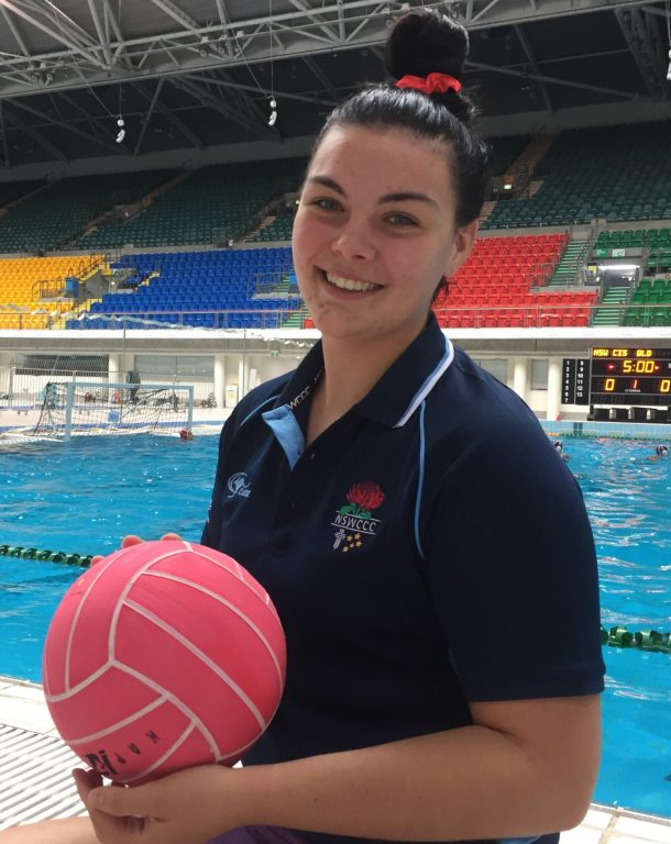 Playing Water Polo for Australia