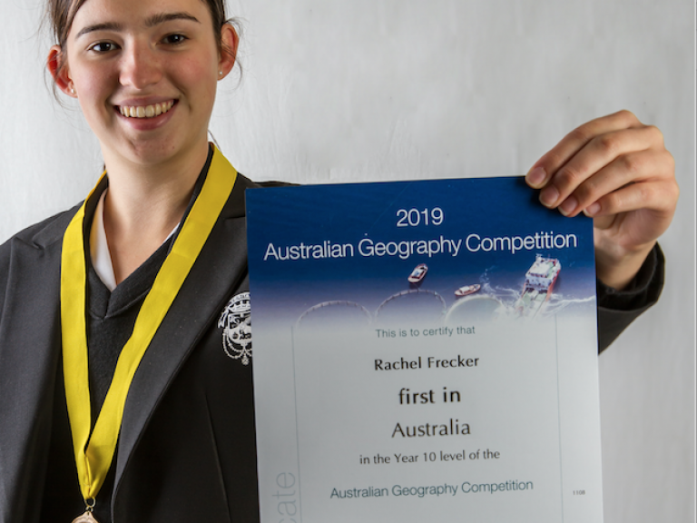 First in Australia for Geography