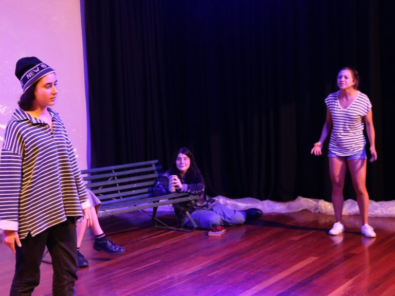 Theatre is still happening at Santa Sabina!
