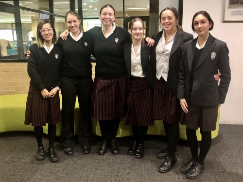 Silver medals for ethics team